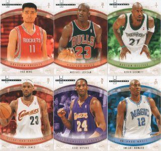 2007 / 2008 Fleer Hot Prospects Basketball Series Complete Mint Basic 60 Card Hand Collated Set. Loaded with Stars Including Michael Jordan, Lebron James, Kobe Bryant, Yao Ming, Tim Duncan, Vince Carter, Shaquille O'neal, Dirk Nowitzki, Kevin Garnett,