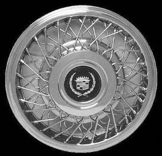 "89 04 CADILLAC SEVILLE WHEEL COVER HUBCAP HUB CAP 15 INCH, WIRE BRIGHT SILVER FWD 15"" inch (center not included) (1989 89 1990 90 1991 91 1992 92 1993 93 1994 94 1995 95 1996 96 1997 97 1998 98 1999 9 Automotive"