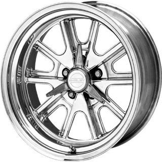 American Racing Vintage Cobra 15x8 Polished Wheel / Rim 5x4.75 with a  12mm Offset and a 72.60 Hub Bore. Partnumber VN427P586140 Automotive