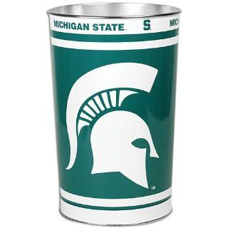 NCAA Michigan State Spartans Tapered Wastebasket Sports & Outdoors
