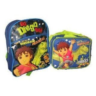 Dora the Explorer GO DIEGO Backpack and Insulated Lunch Box Lunchbox Bag Tote Set  Childrens Lunch Boxes