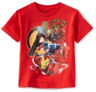 Marvel Boys 2 7 Avengers Assemble Heroes Shirt Clothing
