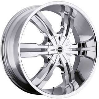 Strada Vetro 24 Chrome Wheel / Rim 5x5 & 5x135 with a 18mm Offset and a 87.1 Hub Bore. Partnumber S31450018 Automotive