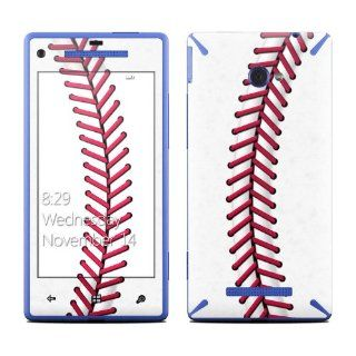 Baseball Design Protective Decal Skin Sticker (High Gloss Coating) for HTC Windows 8X Cell Phone Cell Phones & Accessories