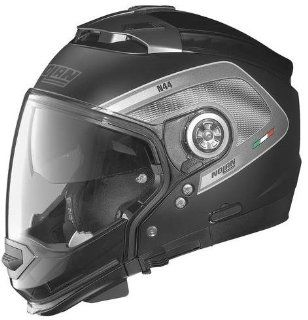 Nolan N 44 N Com Tech Helmet , Distinct Name Tech Flat Black, Gender Mens/Unisex, Helmet Category Street, Helmet Type Modular Helmets, Primary Color Black, Size Sm N445277920245 Automotive