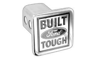 Ford Built Tough Metal Trailer Tow Hitch Cover Plug Emblem Automotive