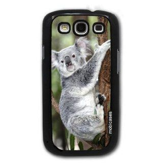 Koala Bear On Tree   Protective Designer BLACK Case   Fits Samsung Galaxy S3 SIII i9300 Cell Phones & Accessories
