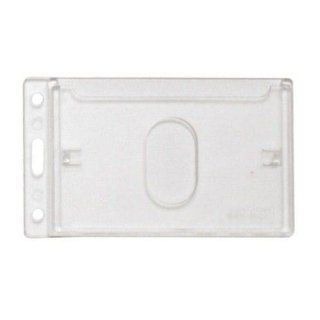 Frosted Vertical Rigid Plastic Card Dispenser 1840 6500