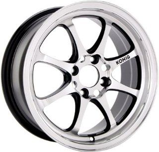 "Konig Britelite Gloss Black Wheel (16x7""/5x114.3mm) Automotive"