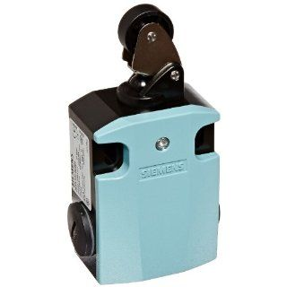 Siemens 3SE5 122 0CE01 International Limit Switch Complete Unit, Roller Lever, 56mm Metal Enclosure, Metal Lever, 22mm Plastic Roller, Snap Action Contacts, 1 NO + 1 NC Contacts