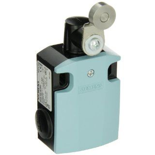 Siemens 3SE5 122 0CH02 International Limit Switch Complete Unit, Twist Lever, 56mm Metal Enclosure, 27mm Metal Lever, 19mm High Grade Steel Roller, Snap Action Contacts, 1 NO + 1 NC Contacts Electronic Component Limit Switches