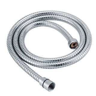KES I3300 Extended Length Replacement 118 Inch Stainless Steel Interlock Handheld Shower Hose, Chrome   Pipes