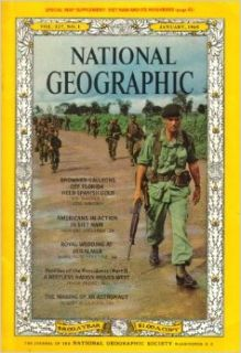 National Geographic Magazine January, 1965 (National Geographic Magazine, 127, No.1) Howard La Fay Books