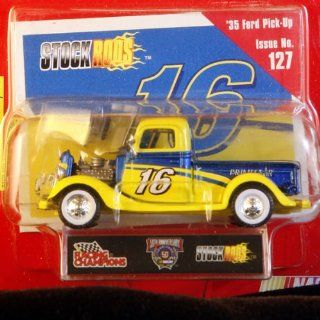 Racing Champions   Stock Rods Series   3.25 inch Replica   NASCAR 50th Anniversary Limited Edition   #16   1935 Ford Pick Up   Primestar   Issue #127 Toys & Games