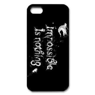 Custom Impossible Back Hard Cover Case for iPhone 5 5s I5 134 Cell Phones & Accessories