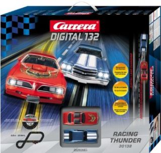 Carrera USA Digital 132, Racing Thunder Race Car Set Toys & Games