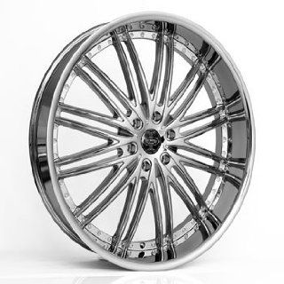 "24"" Wheels Rims Versante Ve231 24x9.5 Chrome 6 Lug GMC Infiniti Lexus Nissan Toyota SUV Wheels 6x135 6x139.7 Automotive"