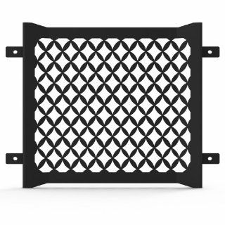 Ferreus Industries   Yamaha VMax 1200 Diamond Mesh Black Powdercoated Radiator Grille   GRL 134 10black Automotive