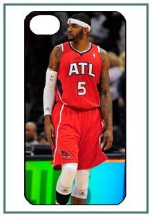 Josh J Smith Atlanta Hawks NBA Star Player iPhone 4 iPhone4 Black Designer Hard Case Cover Protector Bumper Electronics