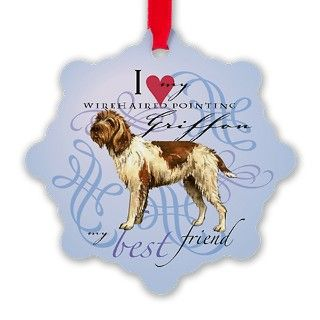 Wirehaired Pointing Griffon Ornament by Admin_CP4928972