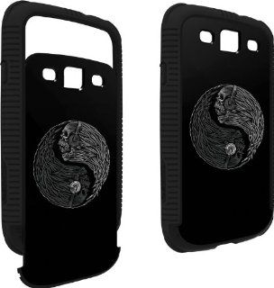 Skull Art  Yin Yang Music Skulls  Skinit Infinity Case for Samsung Galaxy S3 / SIII Cell Phones & Accessories