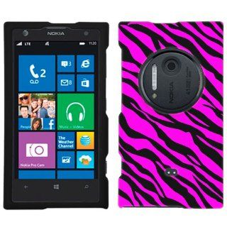 Nokia Lumia 1020 Pink Black Zebra Print Phone Case Cover Cell Phones & Accessories
