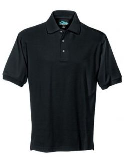 Tri Mountain Mens cotton pique golf shirt. Clothing
