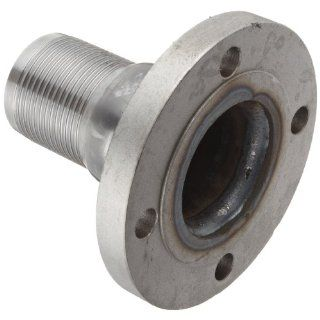 Dixon FST Series Steel Hose Fitting, Standard Flanged King Combination Nipple, 150# ASA Flange x Hose ID Barbed