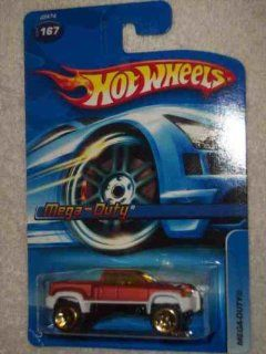 #2006 167 Mega Duty 5 Spoke Construction Wheels Collectible Collector Car Mattel Hot Wheels 164 Scale Toys & Games