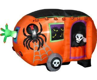 8 ft. w x 3.75 ft d x 5 ft h Animated Airblown Halloween Camper   G08 62994X Health & Personal Care