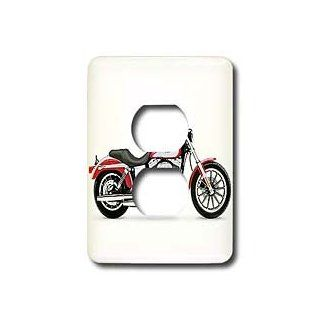 3dRose LLC lsp_4490_6 Light Switch Cover Picturing Harley Davidson&#174 Motorcycle