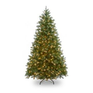 7 ft. Feel Real Wisconsin Spruce Hinged Pre Lit Christmas Tree   Christmas Trees