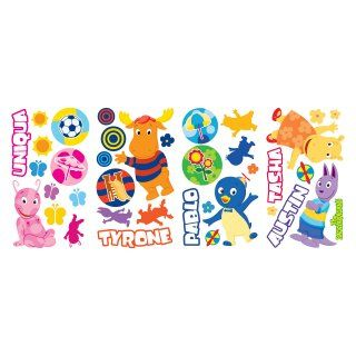 Backyardigans Peel & Stick Growth Chart Wall Decal   Up to 2.5W x 37H in.   Wall Decals