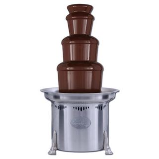 Sephra 27 Inch Stainless Steel Commercial Chocolate Fountain   Chocolate Fountains