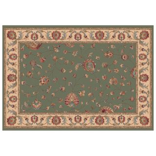Dynamic Rugs Radiance Collection 47 x 24 Hearth Rug Olive Ryian   Hearth Rugs