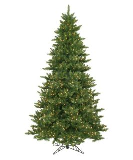 Pre lit Clear Light 8.5 ft. Camdon Fir Tree   Christmas Trees