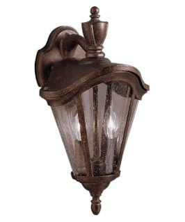 Kichler Lafayette Outdoor Wall Lantern   16H in. Tannery Bronze   Outdoor Wall Lights