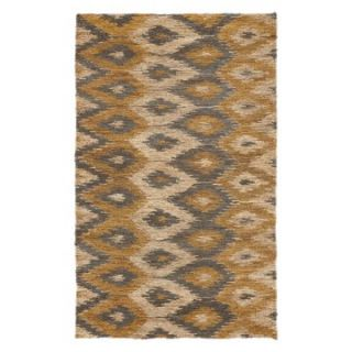 Surya CBA 102 Natural Fibers Area Rug   Beige / Gold / Gray   Area Rugs