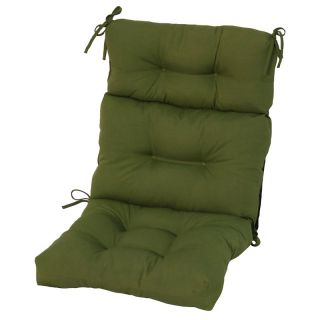 Greendale Home Fashions Outdoor High Back Chair Cushion   Outdoor Cushions