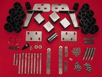1999 2011 Chevrolet Silverado 1500 Body Lift Kit   Performance Accessories, Nylon, Direct fit, With bracket(s)