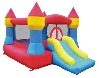Kidwise Castle Bounce and Slide Inflatable Bounce House   Bounce Houses