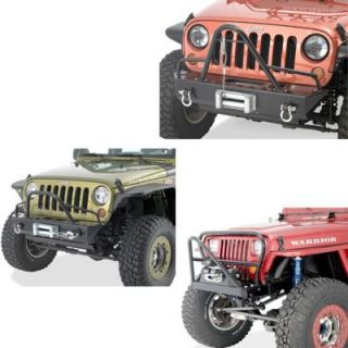 1987 1992 Jeep Wrangler (YJ) Grille Guard   WP Warrior Products, Warrior Products Stinger