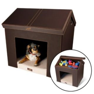 Pet Haven Indoor Folding Dog House   Dog Houses