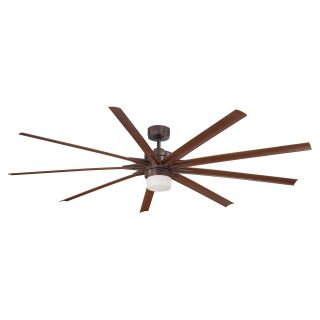 Fanimation Odyn 84 In. Indoor / Outdoor Ceiling Fan with Light   Ceiling Fans
