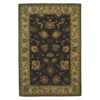 Safavieh Bergama BRG136B Area Rug   Brown/Ivory   Area Rugs