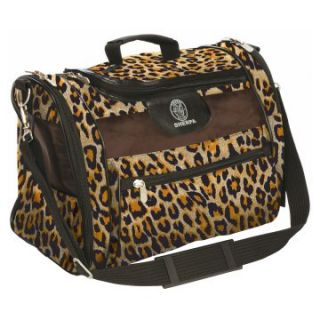 Sherpa Cat Tote Leopard Print Carrier   Cat Carriers