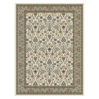 Central Oriental Royal Emperor Area Rug   Ivory   Area Rugs