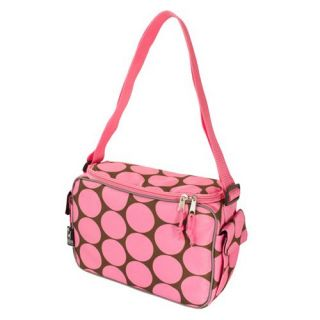 Wildkin Big Dots Pink Keep it Cooler Lunch Box   Travel Accessories