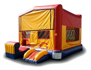 EZ Inflatables Module 5 N 1 Combo Bounce House   Commercial Inflatables