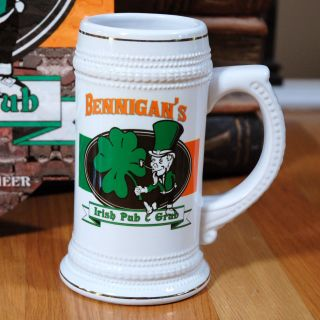 Personalized Irish Pub and Grub Stein